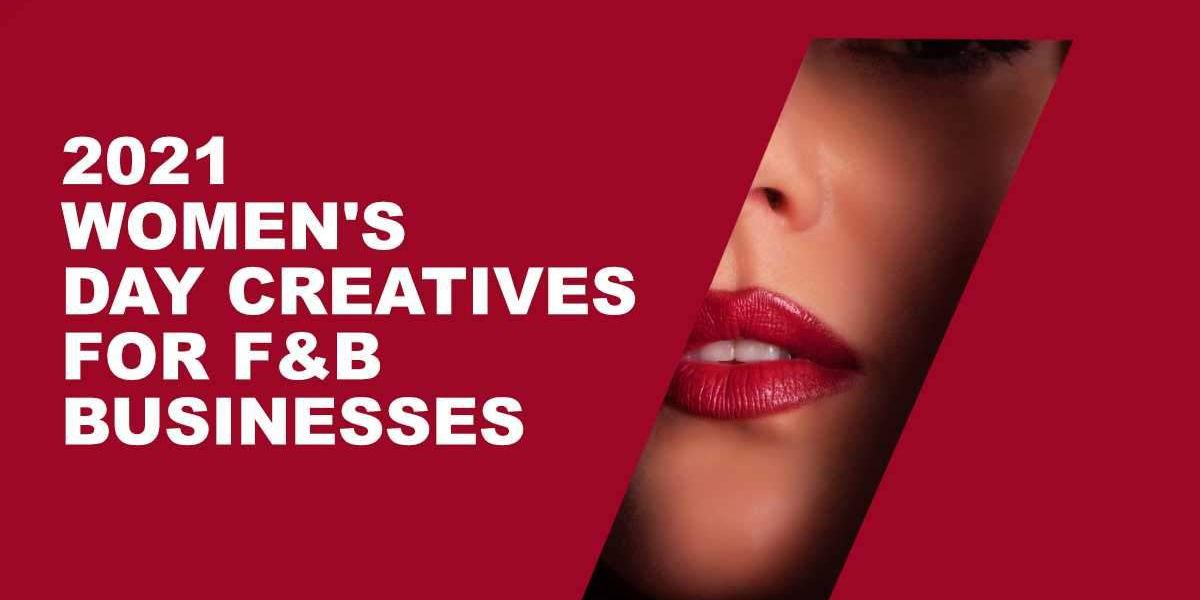 International Women's Day creatives for F&B Businesses Image 1