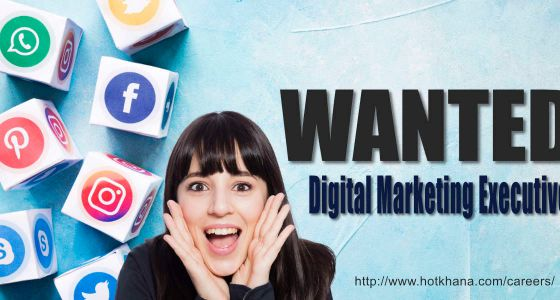 Hot Shot Digital Marketing Executive Wanted
